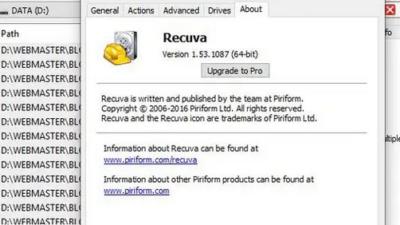 Aplikasi pemulihan data terhapus terbaik di Windows