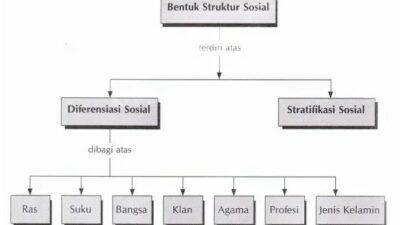 Pengertian Struktur Sosial, Bentuk, Ciri, Fungsi & Contoh